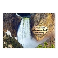 Lower Falls, Yellowstone Park 3 Postcards (Package