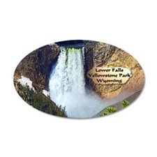 Lower Falls, Yellowstone Park 3 38.5 x 24.5 Oval W