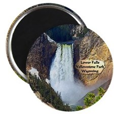 Lower Falls, Yellowstone Park 3 Magnet
