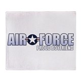 USAF Boyfriend Throw Blanket
