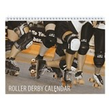 Roller Derby Wall Calendar
