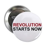 "Revolution Starts Now 2.25"" Button (10 pack)"