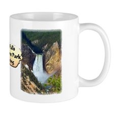Lower Falls, Yellowstone Park 3 Mug