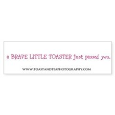 Cute Brave Bumper Sticker