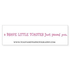 toaster passing you Bumper Bumper Sticker