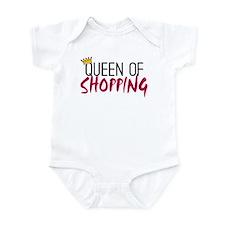 'Queen of Shopping' Infant Bodysuit