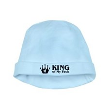 King of My Pack baby hat