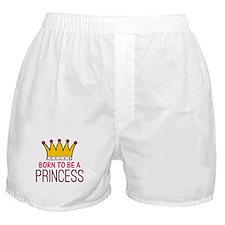 'Born Princess' Boxer Shorts