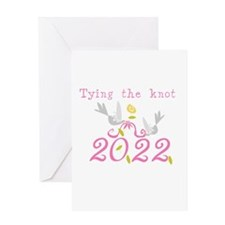 Tying the Knot 2012 Greeting Card
