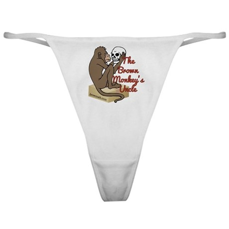 Brown Monkey's Uncle Classic Thong