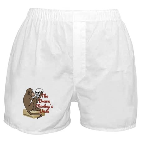 Brown Monkey's Uncle Boxer Shorts