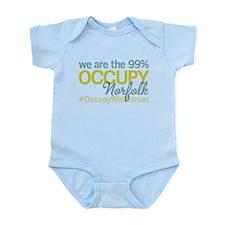 Occupy Norfolk Infant Bodysuit