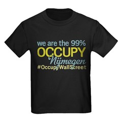 Occupy Nijmegen Kids Dark T-Shirt