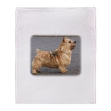 Norwich Terrier 9Y432D-004 Throw Blanket