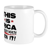 """This Is America"" Small Mug"