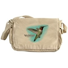 Ruby-Throated Hummingbird Messenger Bag