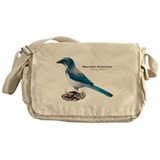 Western Scrub Jay Messenger Bag