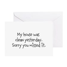 Clean House Greeting Card