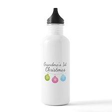 Grandma's 1st Christmas Water Bottle