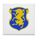 DUI - 1st Sqdrn - 6th Cavalry Regt Tile Coaster
