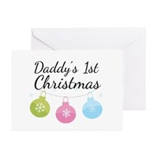 Daddy's 1st Christmas Greeting Cards (Pk of 20)