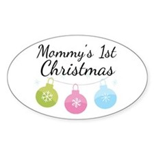 Mommy's 1st Christmas Decal