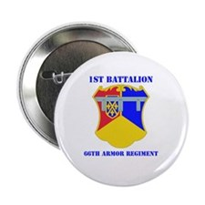 "DUI - 1st Bn - 66th Armor Regt with Text 2.25"" But"
