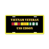 Uss edson License Plates