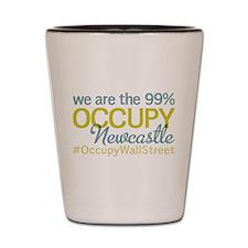 Occupy Newcastle Upon Tyne Shot Glass