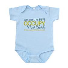 Occupy New York Infant Bodysuit