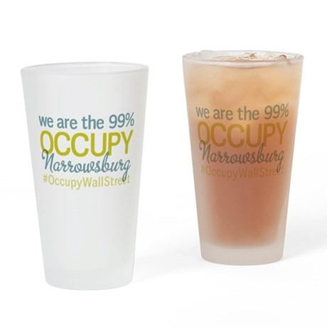 Occupy Narrowsburg Drinking Glass