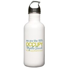 Occupy Myrtle Beach Water Bottle