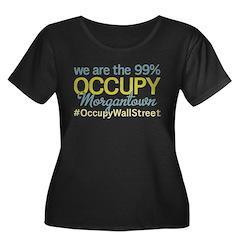 Occupy Morgantown Women's Plus Size Scoop Neck Dar