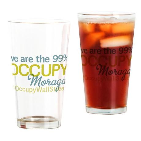 Occupy Moraga Drinking Glass