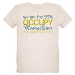 Occupy Moorestown Organic Kids T-Shirt