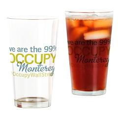 Occupy Monterey Drinking Glass