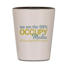 Occupy Media Shot Glass