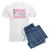 I wear pink for Amari pajamas