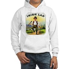 Irish Lad Cigar Label Hoodie