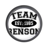 Team Benson Wall Clock