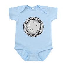 Dallas Texas Infant Bodysuit