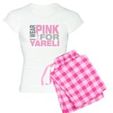 I wear pink for Yareli pajamas