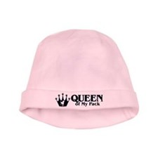 Queen of My Pack baby hat