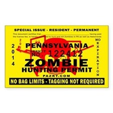 PA Zombie Hunting Permit