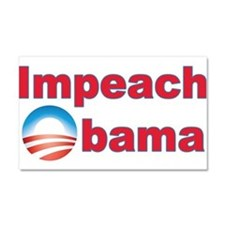 Impeach Obama Car Magnet 20 x 12
