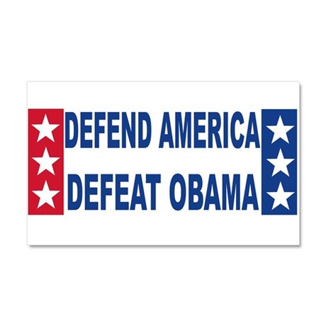Anti obama Car Magnet 20 x 12