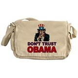 Don't Trust Obama Messenger Bag