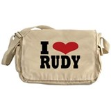 I love rudy Messenger Bag