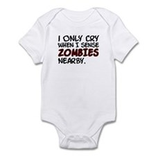'Zombies Nearby' Infant Bodysuit