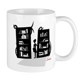 Library Monsterscape Coffee Mug